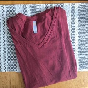 Lularoe Brick Red Christy T